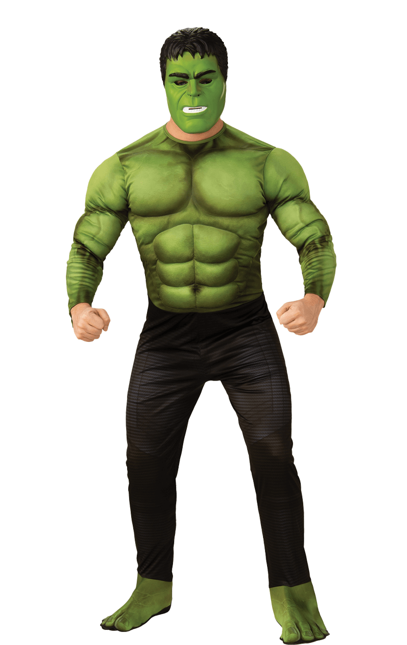 Mens Incredible Hulk Costume