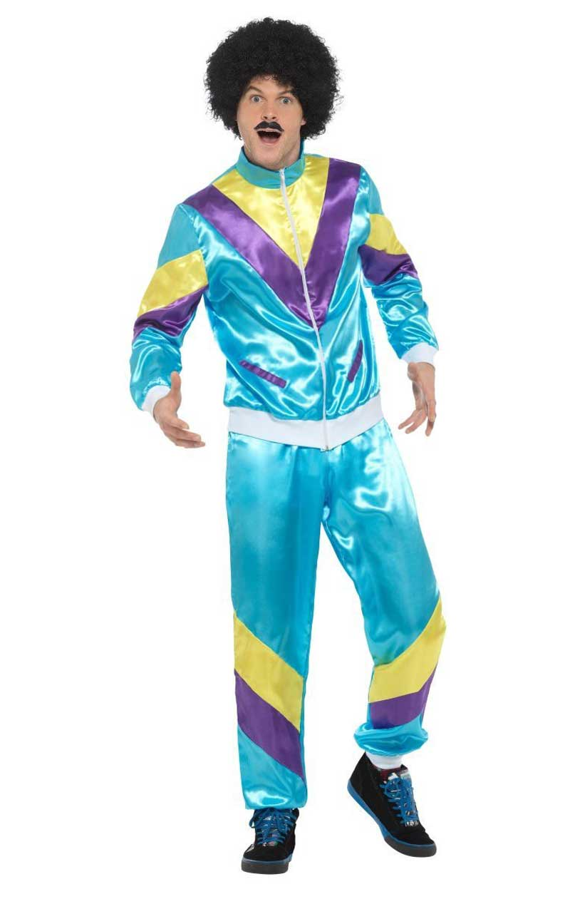 Adult 80s Shell Suit Costume