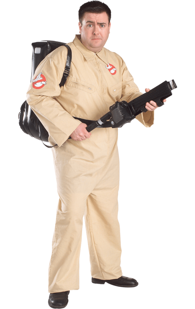 Men's Halloween Ghostbusters Costume (Plus Size)
