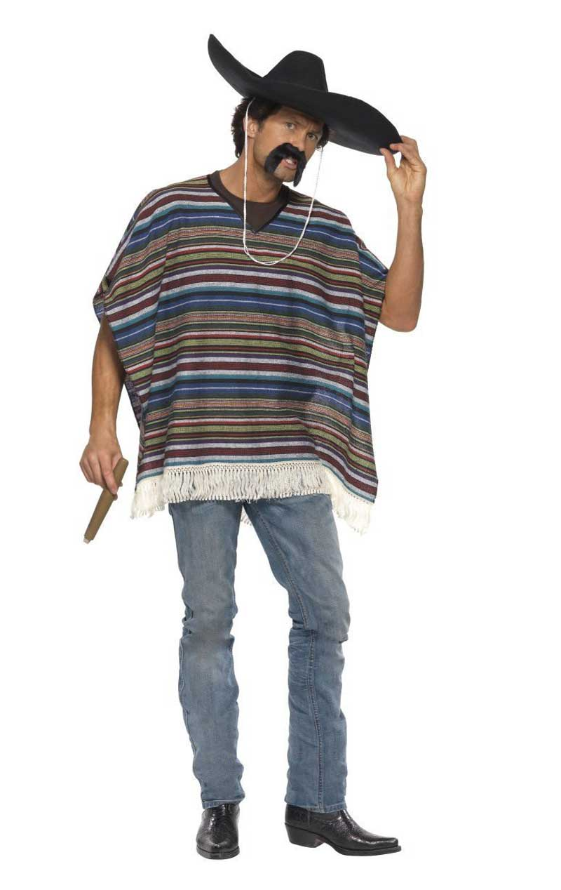 Adult Authentic Looking Poncho