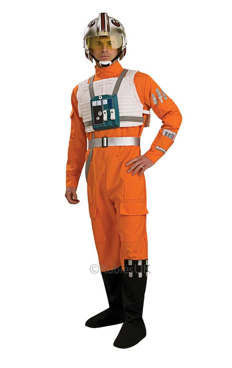 Adult X-Wing Pilot Star Wars Costume