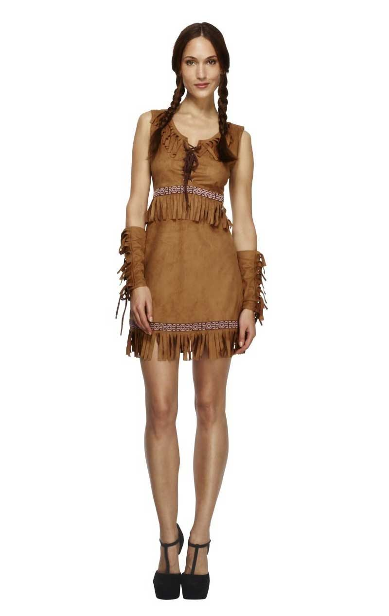 Adult Fever Pocahontas Costume