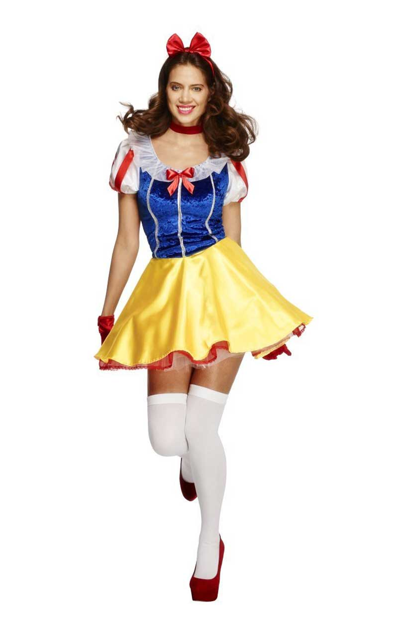 Adult Fever Fairytale Snow White Costume
