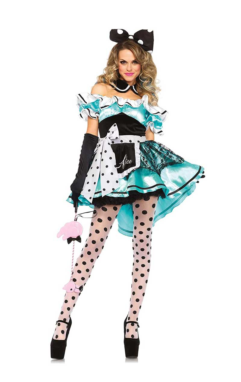 Ladies Delightful Alice in Wonderland Costume