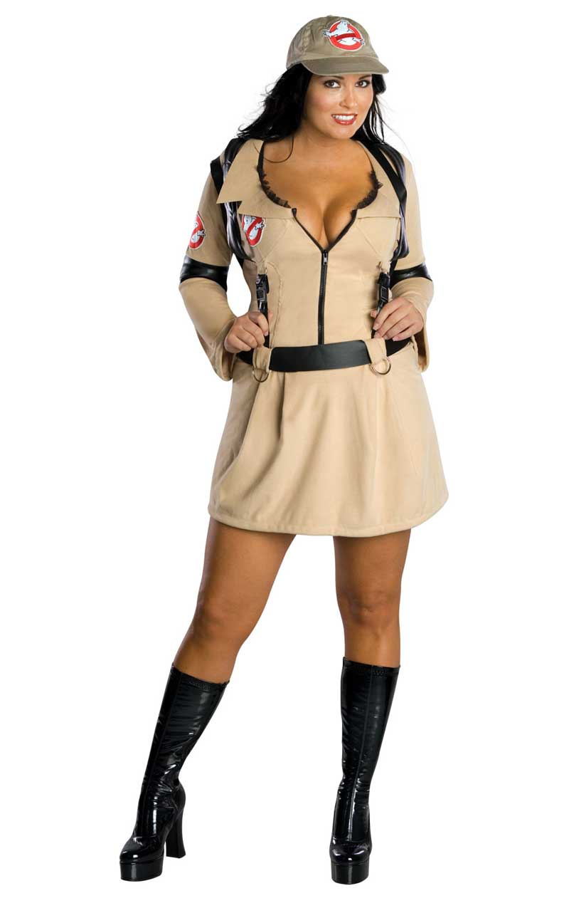 Women's Sexy Ghostbuster Costume (Plus Size)