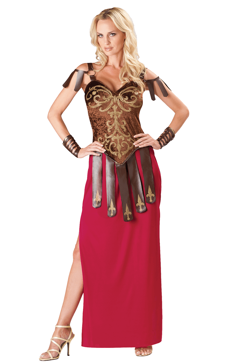 Adult Gorgeous Gladiator Warrior Costume