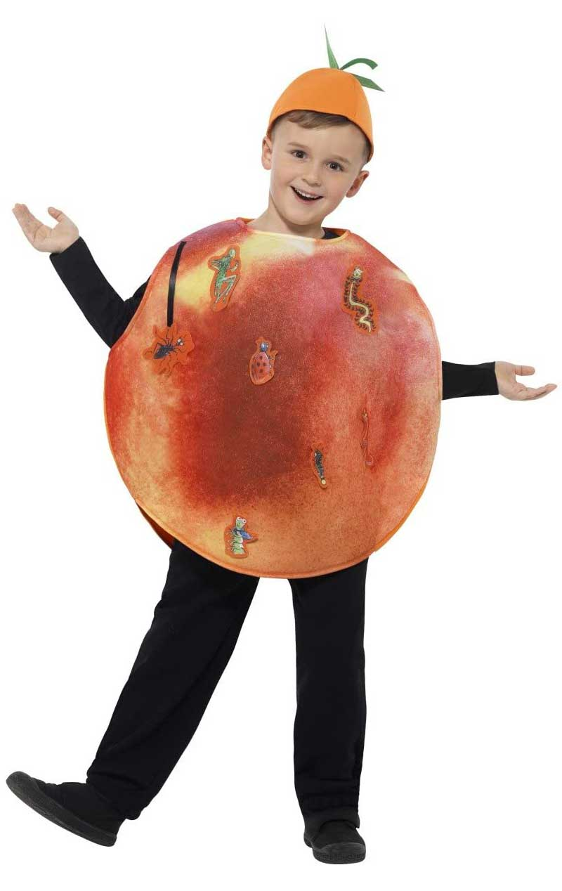 Child James & The Giant Peach Costume - Simply Fancy Dress