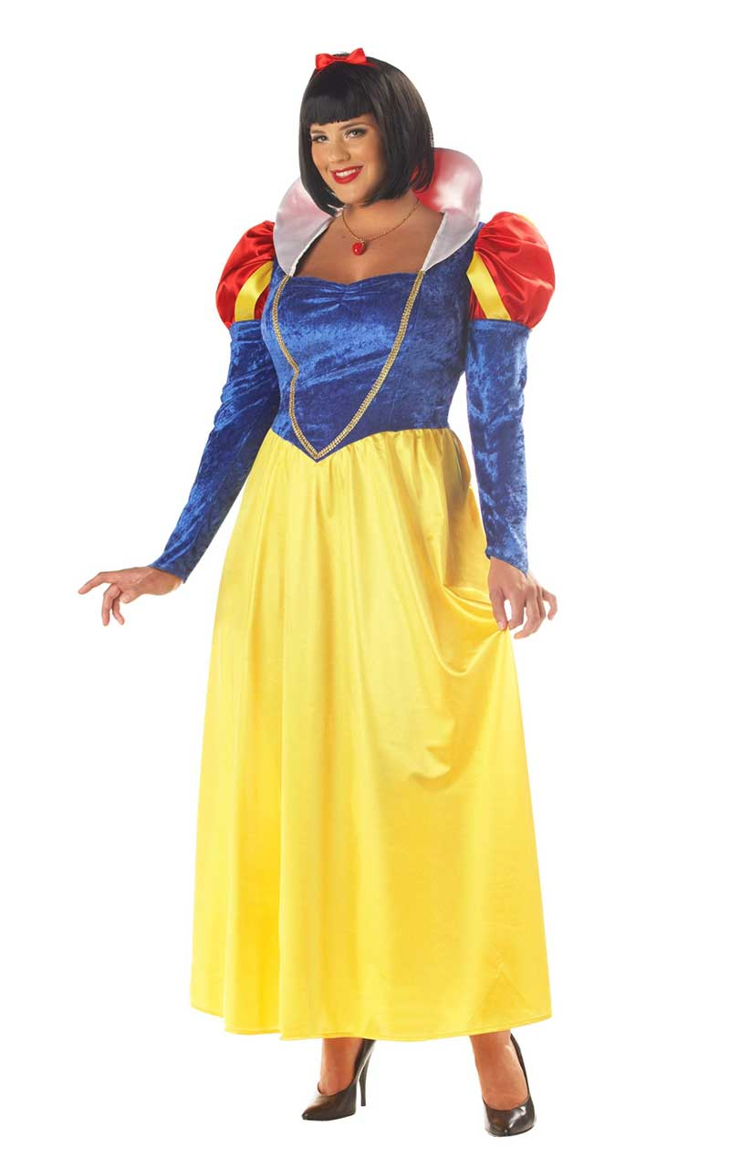 Classic Snow White Costume (Plus Size) - Simply Fancy Dress