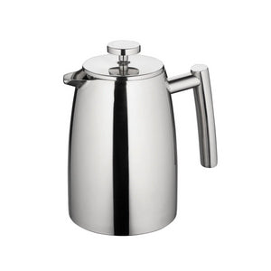 Open image in slideshow, Modena Stainless Steel Twin Wall Coffee Plunger