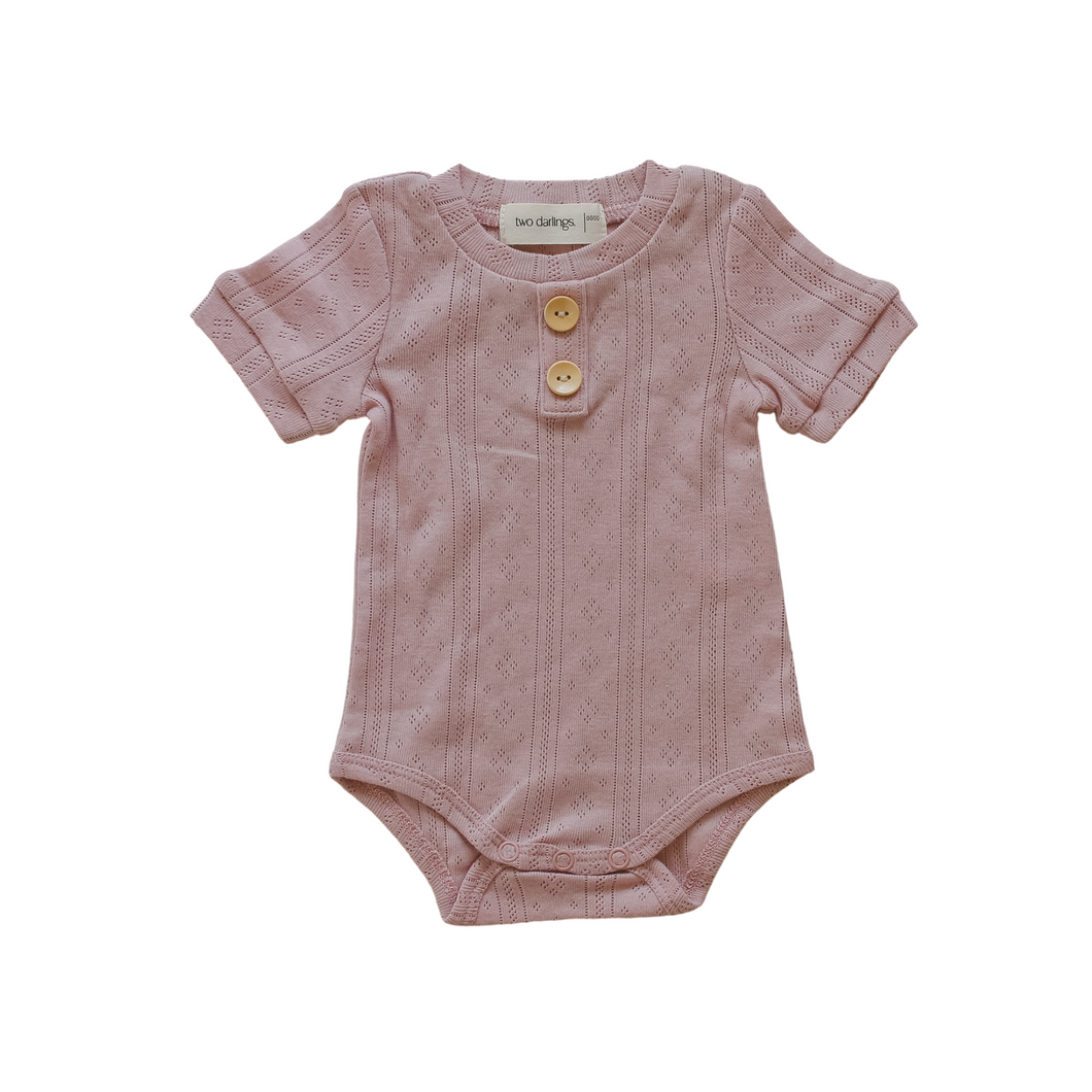 Basics Bodysuit - Rose