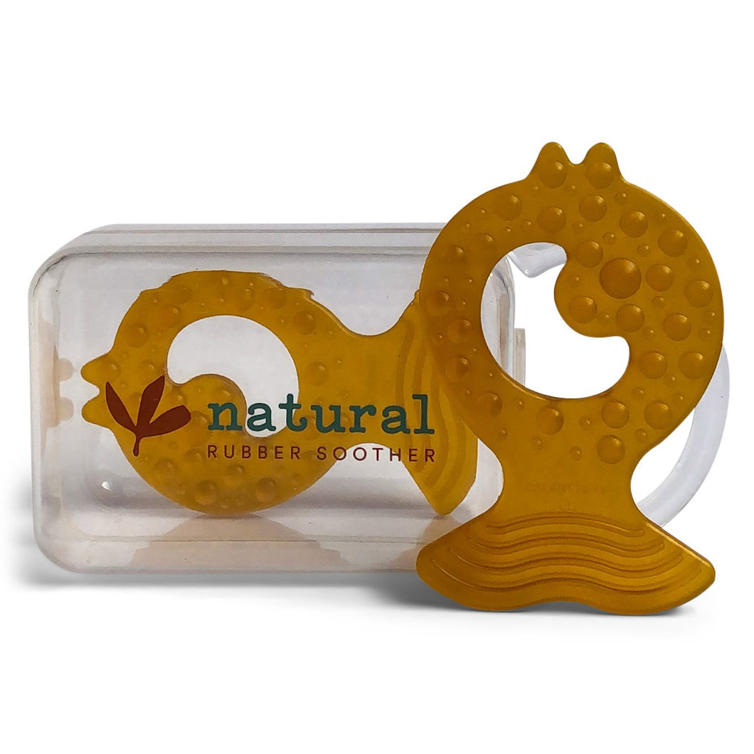Natural Rubber Teether - Twin Pack