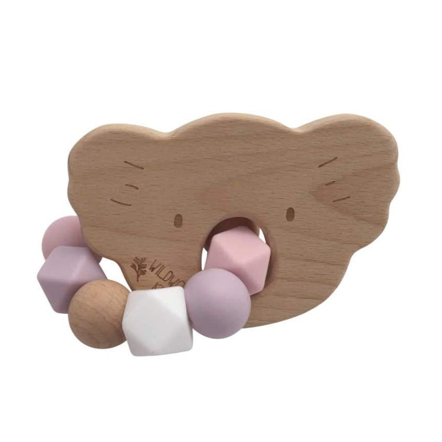 Koala Teether - Pink Mix