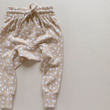 Load image into Gallery viewer, Bamboo Harem Pants - Latte Speckle