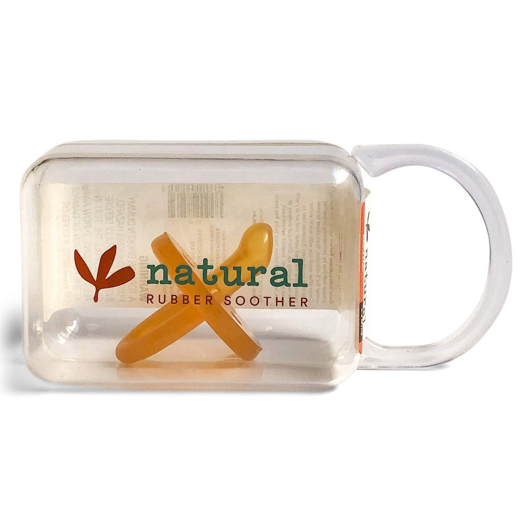 Natural Rubber Soother - Orthodontic Single