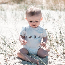 Load image into Gallery viewer, Organic Sunny Days Onesie - Ecru Marle