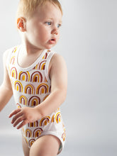 Load image into Gallery viewer, Organic Bodysuit - Rainbow