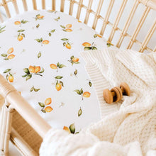 Load image into Gallery viewer, Bassinet/ Change Pad Cover - Lemon