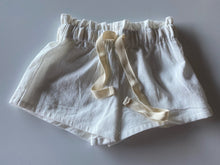 Load image into Gallery viewer, Linen Shorts - Milk