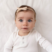 Load image into Gallery viewer, Velvet Baby Headband - Lychee