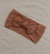Load image into Gallery viewer, Topknot Headband - Burnt Orange