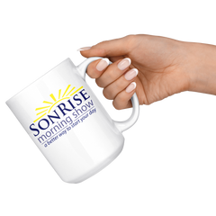 Son Rise Morning Show - Large Coffee Mug