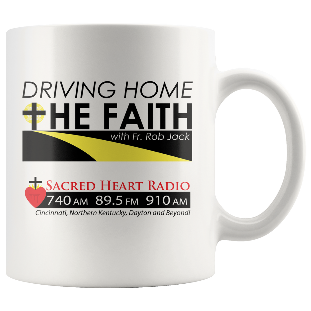Driving Home the Faith - Coffee Mug