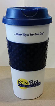 Son Rise Morning Show Travel Mug