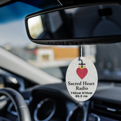 Sacred Heart Radio Air Freshener