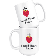 Sacred Heart Radio - Large Coffee Mug