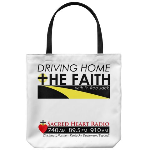 Driving Home the Faith Tote Bag