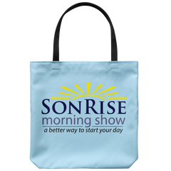 Son Rise Morning Show Tote Bag
