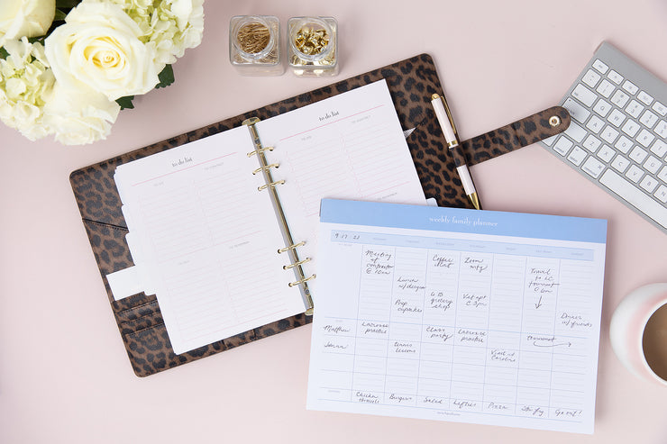NEW Weekly Family Planner Pad | momAgenda