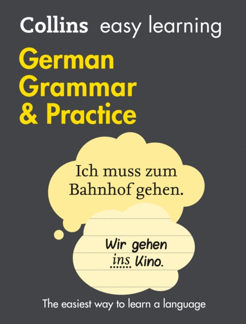Easy Learning German Grammar and Practice : Trusted Support for Learning