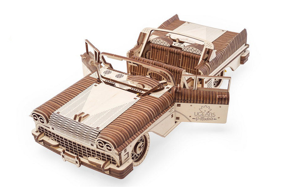 UGEARS I Luxus Cabriolet I Holzpuzzle