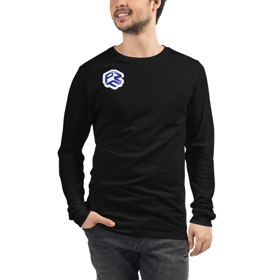 Long Sleeve unisex blau