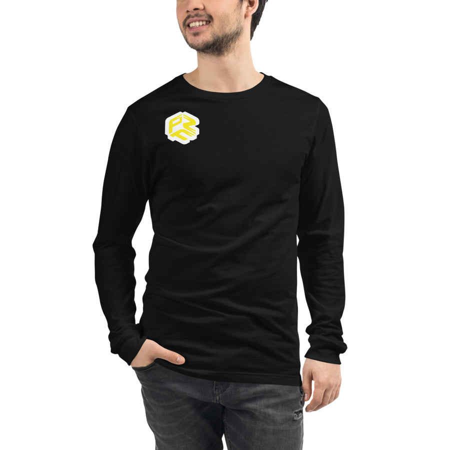 Long Sleeve unisex gelb
