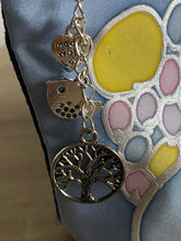 Load image into Gallery viewer, Bubbles Design Cosmetics Purse in Pastels : Hand Painted Silk