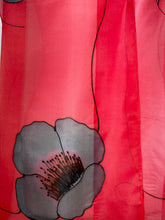 Load image into Gallery viewer, Poppy Noir Design X Long Silk Scarf : Hand Painted Silk