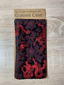 Vintage Fabric Silk Glasses Case