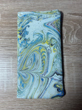 Load image into Gallery viewer, Marbled Silk Glasses Case : Hand Dyed Silk