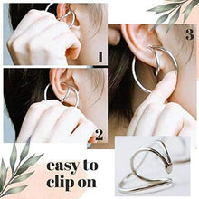 Load image into Gallery viewer, Hooping Ear cuff (2 Pair)