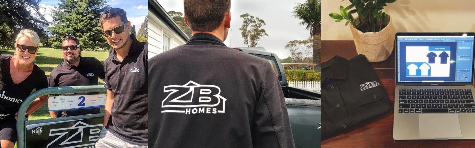 ZB Homes Jackets and Polos