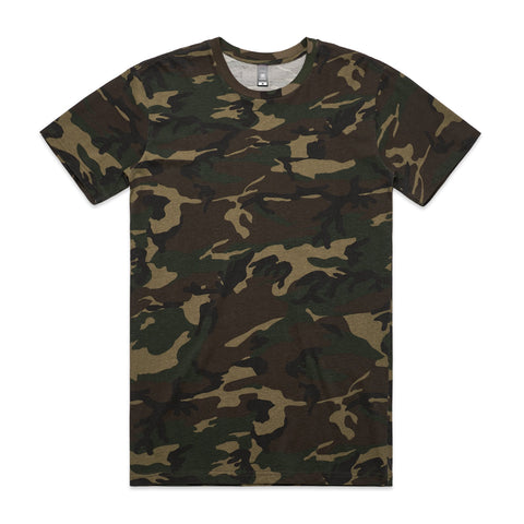 Mens Staple Camo Tee