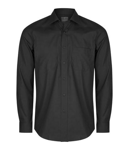 Mens Premium Poplin Long Sleeve Shirt