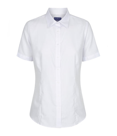 Womens White Short Sleeve Shirt