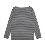 Womens Bowery Stripe L/S T-Shirt