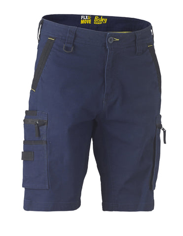 Flex & Move™ Stretch Utility Zip Cargo Short