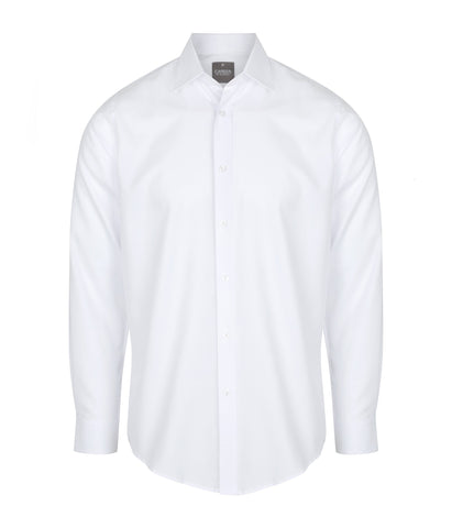 Mens White Long Sleeve Shirt