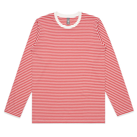 Mens Bowery Stripe L/S T-Shirt