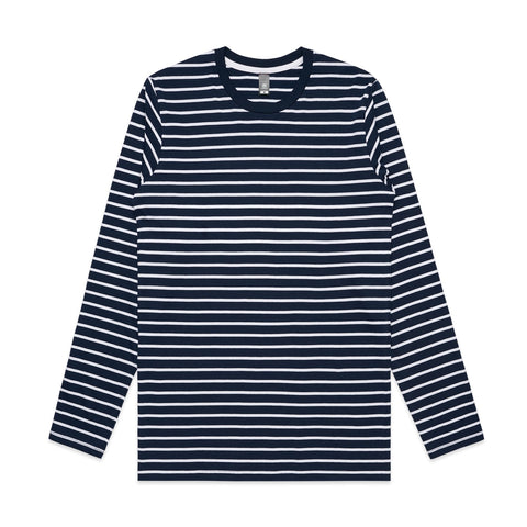 Mens Match Stripe Long Sleeve